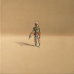American Icon - Boba Fett Action Figure 12x12 acrylic on paper