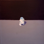 American Icon - R2D2 12x12 acrylic on paper
