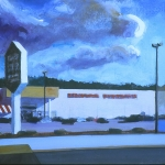 MW6 Mall #6 9x11 WC Gouache 2002