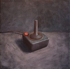 american-icon-atari-joystick-12x12-acrylic-on-paper