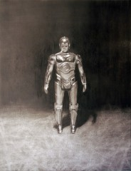 american-icon-c3po-action-figure-17x22-charcoal-on-paper